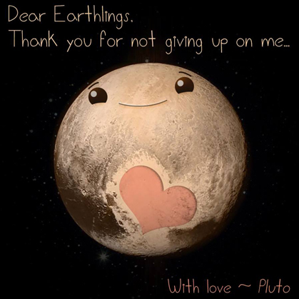 Pluto and the Love Channel